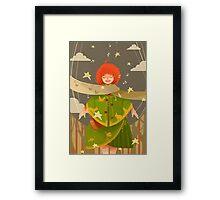 Christmas Child Framed Print