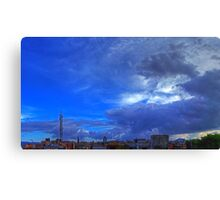 ©HCS In The Blue Cloudscape HDR Canvas Print