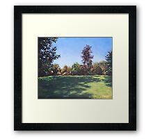 Southampton Palmerston Park Autumn sun Framed Print