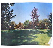 Southampton Palmerston Park Autumn sun Poster