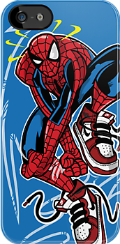 The Amazing SneakerMan by racPOP Cases