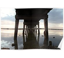Old Port Broughton jetty Poster