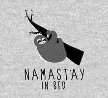 namast'ay in bed sloth Unisex T-Shirt