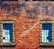 Brick Windows by njordphoto