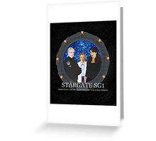 The Women of Stargate SG1 Greeting Card