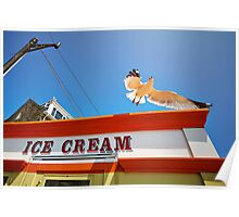 The Ice Cream Seagull Poster