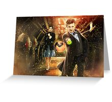Doctor Who Cold War Poster Greeting Card