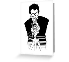 Elvis Costello - This Year's Model - Illustration Greeting Card