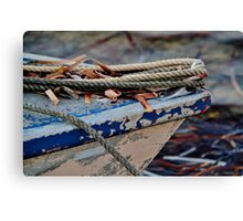 Boat bow Canvas Print