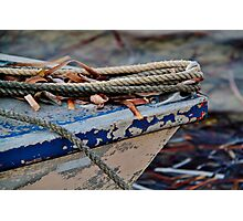 Boat bow Photographic Print