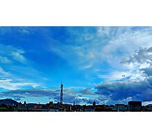 ©HCS In The Blue Cloudscape II HDR Photographic Print
