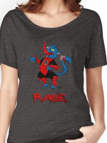 Dex-Starr from the Red Lanterns Corps  Women's Relaxed Fit T-Shirt