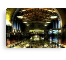 Amtrak - Union Station in Los Angeles, California Canvas Print