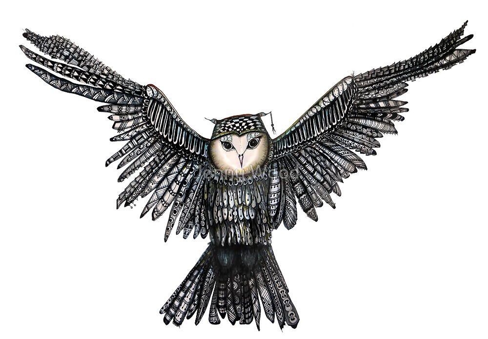 An owl named Jareth  by Jenny Wood