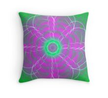 Mandala for Grief Healing Throw Pillow