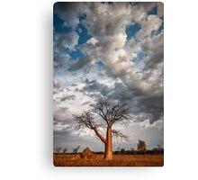 Under a Restless Sky Canvas Print