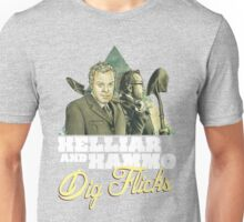 Helliar and Hammo Dig Flicks Unisex T-Shirt