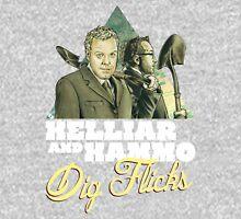 Helliar and Hammo Dig Flicks Unisex T-Shirt