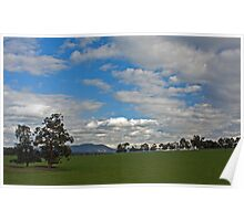 View of Mt Dandenong Poster