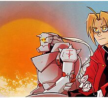 The Elric Bros.  by JeffPMyles