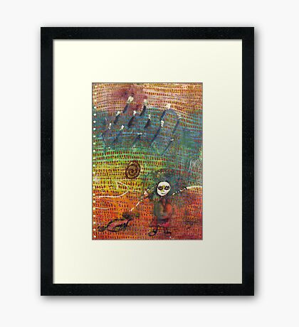 Tarot Will Teach You/ Woodland  Framed Print