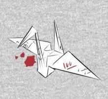 Ayano's paper crane by Tiggythetiger