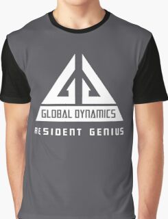 Eureka-Resident Genius Graphic T-Shirt