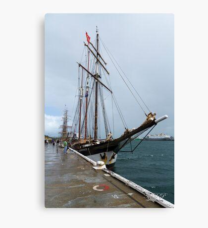 """Dutch Tall Ship """"Oosterschelde Canvas Print"""