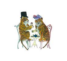 Tiger Tea Photographic Print