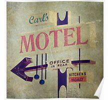 Carl's Motel Poster