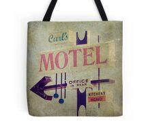 Carl's Motel Tote Bag