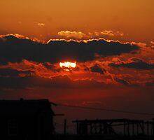 Smith Island Sunset 4 by Phyllis Dixon