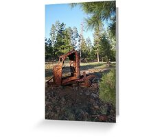 Rusty Greeting Card