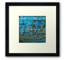 Camaret - Cordages bleus Framed Print