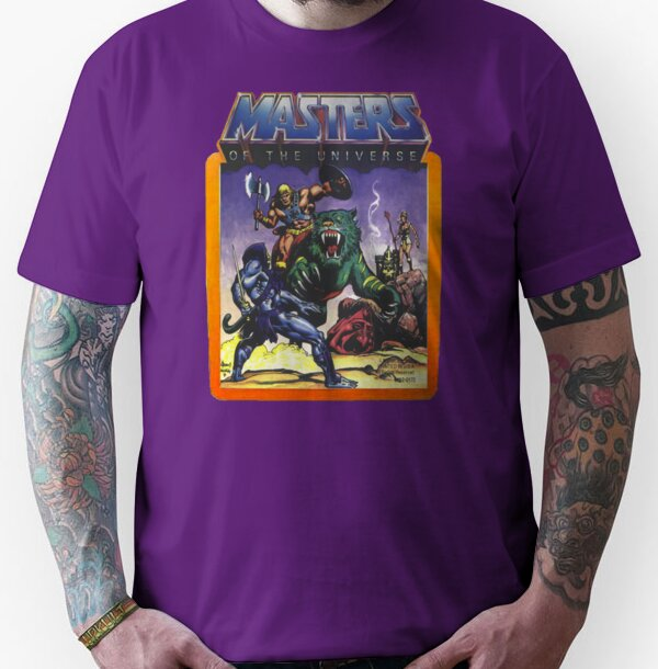 Unisex He-Man Masters of the Universe Battle Unisex Tee - S to 3XL