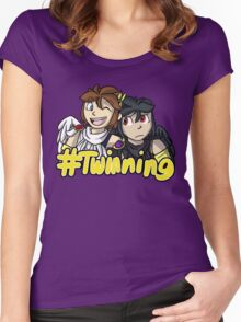 #Twinning [Kid Icarus: Uprising] Women's Fitted Scoop T-Shirt