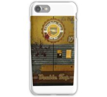Double tap machine iPhone Case/Skin