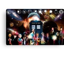 Eleven Doctors Canvas Print
