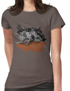 A Warrior's Tear Womens Fitted T-Shirt