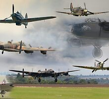 Spirit of Bomber Command by Nigel Bangert