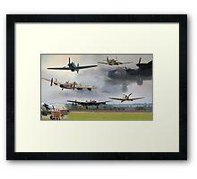 Spirit of Bomber Command Framed Print