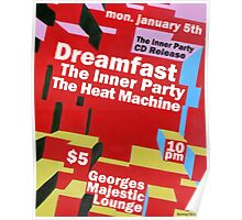 The Inner Party Show Flyer - January 5th 2009 Poster