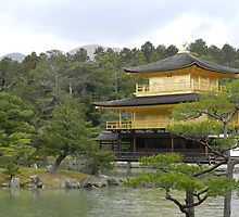Kinkaku-ji - Kyoto, Japan by DameioNaruto