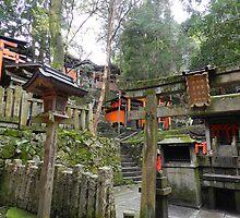 Smaller Shrines at Fushimi Inari-Taisha by DameioNaruto