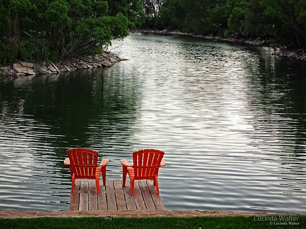 Summer Time by the Lake by Lucinda Walter