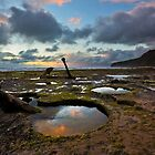 Twilight on Wreck Beach by pablosvista2