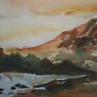 Pre-sunset rain by IslesOfMine