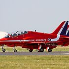 Red Arrows Hawk T1 by PhilEAF92