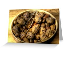 We're all nuts #1 Greeting Card