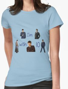 Doctor who- 10th doctor  Womens Fitted T-Shirt